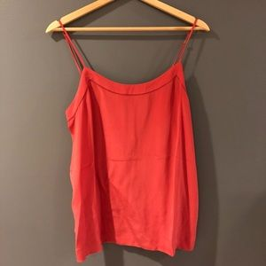 Madewell Pink/Coral Flowy Shirt